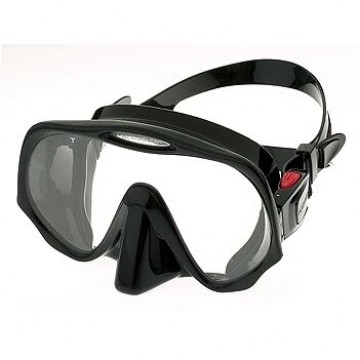 Atomic aquatic frameless mask