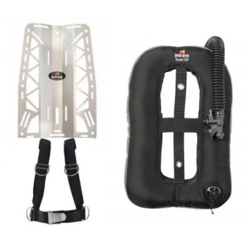 Dive rite xt lite backplate with travel exp wing