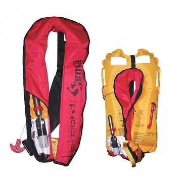 Lalizas inflatable lifejacket sigma 150N