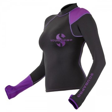 Scubapro long sleeve rash guard polyester ladies
